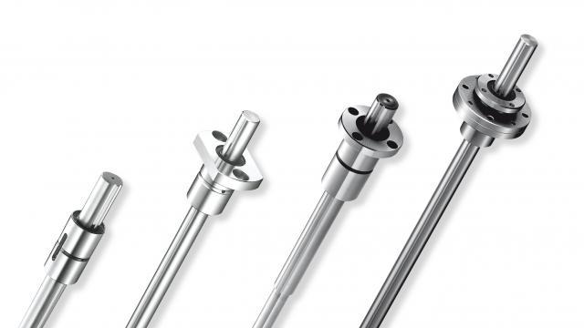 Splined shafts