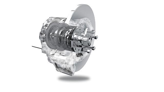 NTN In-wheel motor for the E-WAZUMA (electric vehicle)