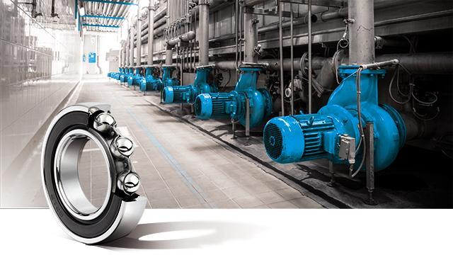 Ball bearings by NTN