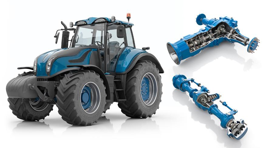 NTN Bearings designed for tractor transmissions