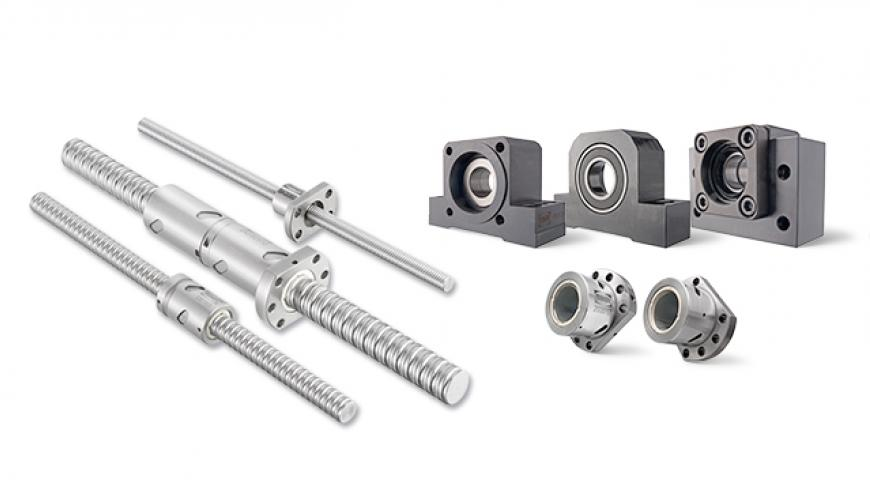 Ball screw range by NTN