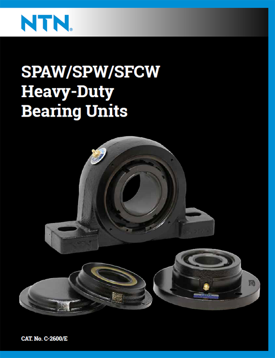NTN SPAW/SPW/SFCW heavy-duty bearing units