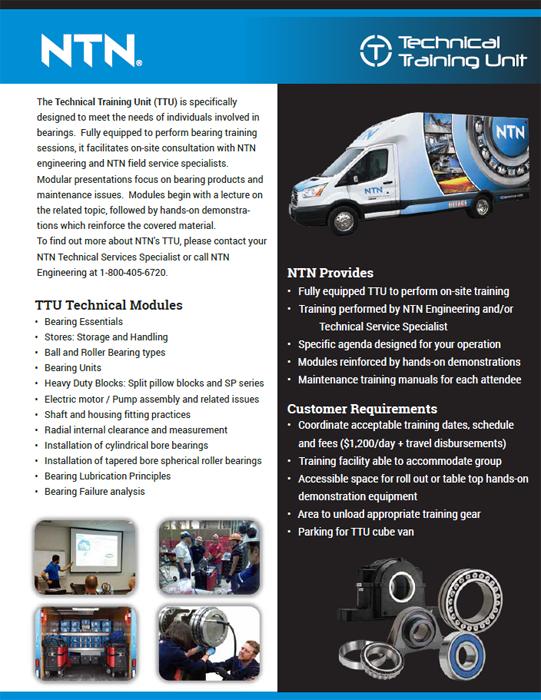 NTN Technical training