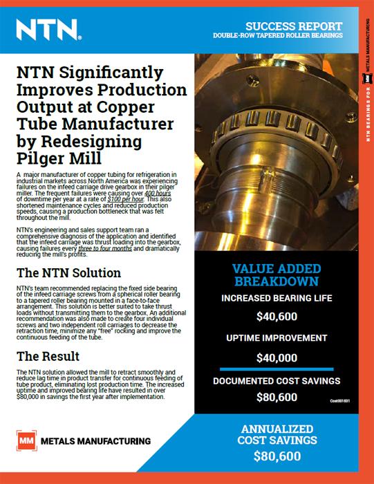 NTN success report copper tube manufacturer