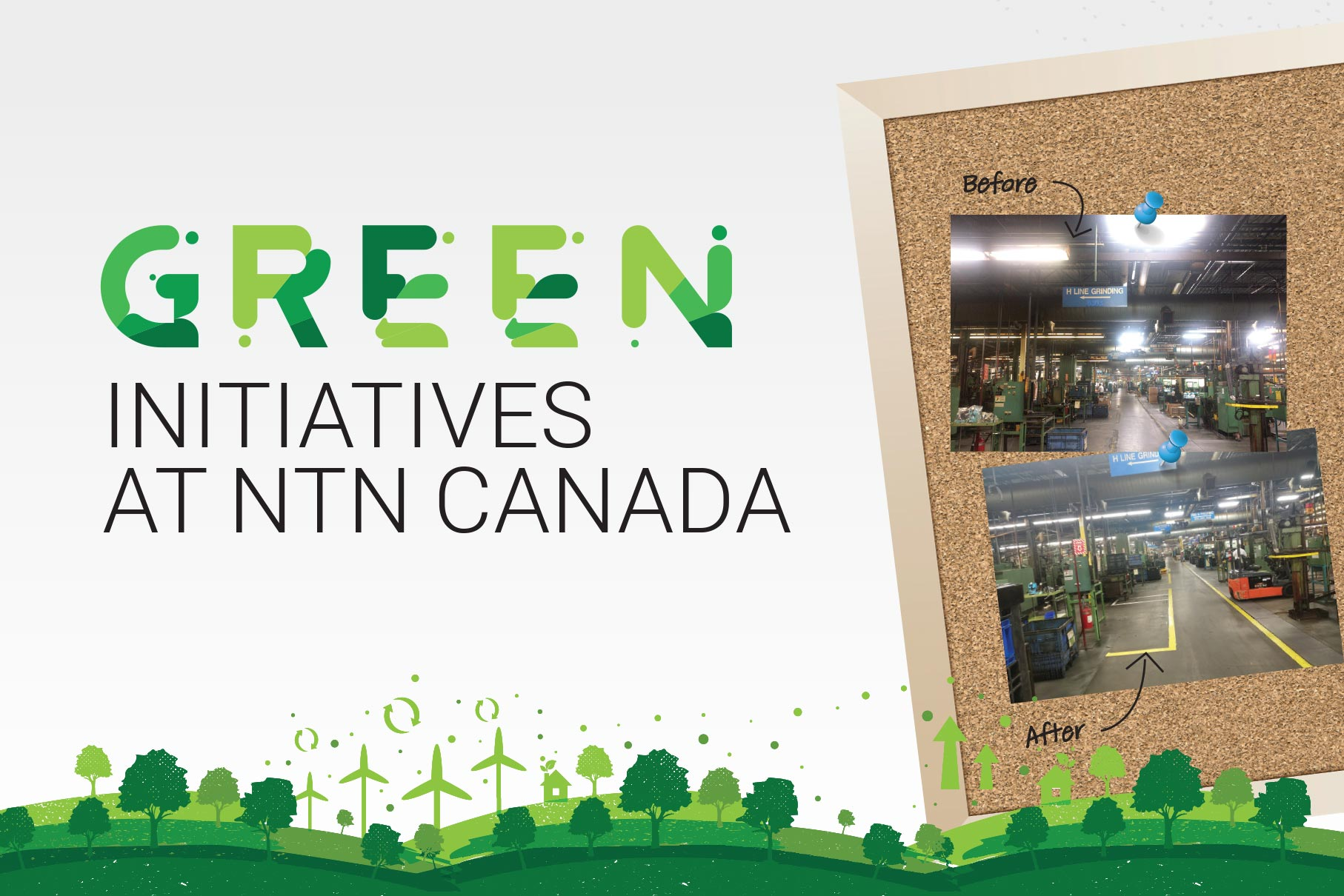 Green Initiatives X