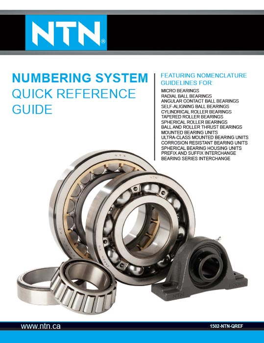 Bearingquickreferenceguide https://ntn.ca/wp content/uploads///BearingQuickReferenceGuide EN Web.pdf