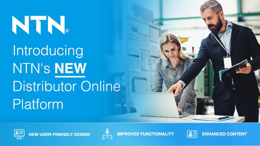 NTN's new distributor online platform