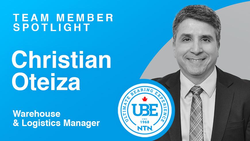 Team Member Spotlight: Christian Oteiza