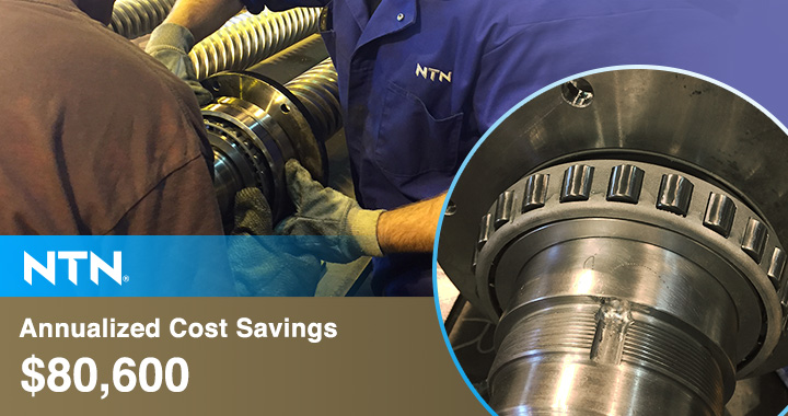 NTNTaperedRollerBearings AnnualizedCostSavings$,