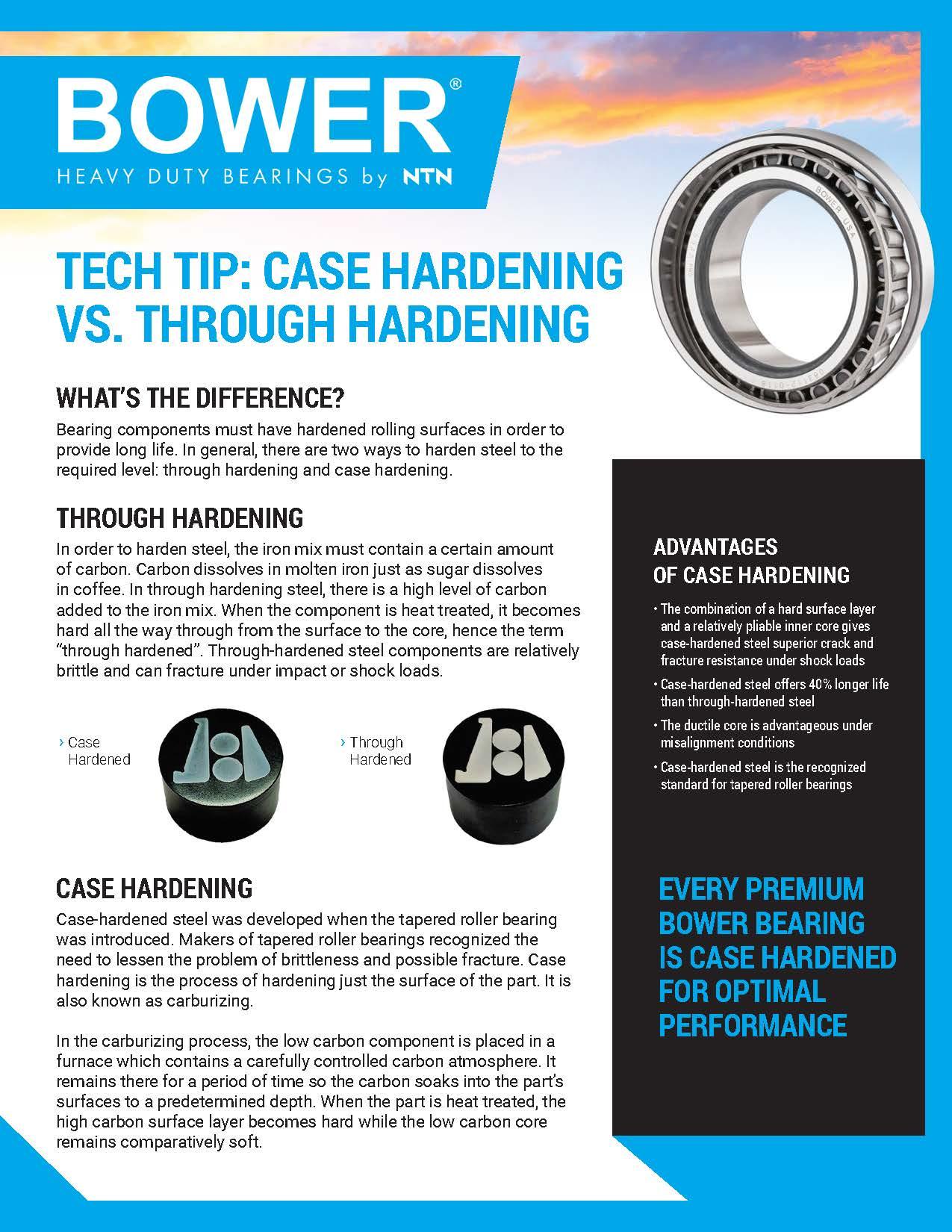 NTN-Bower-Case Harden Tech Tip