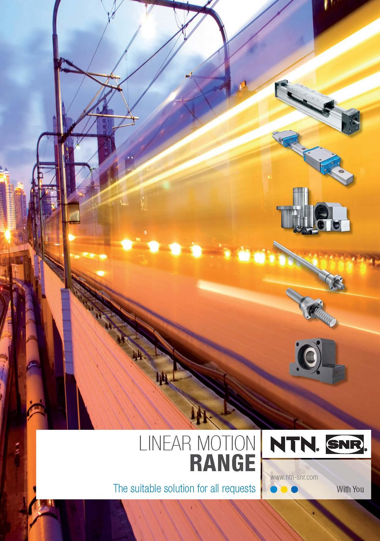 Cover NTN SNR-Linear Motion Range