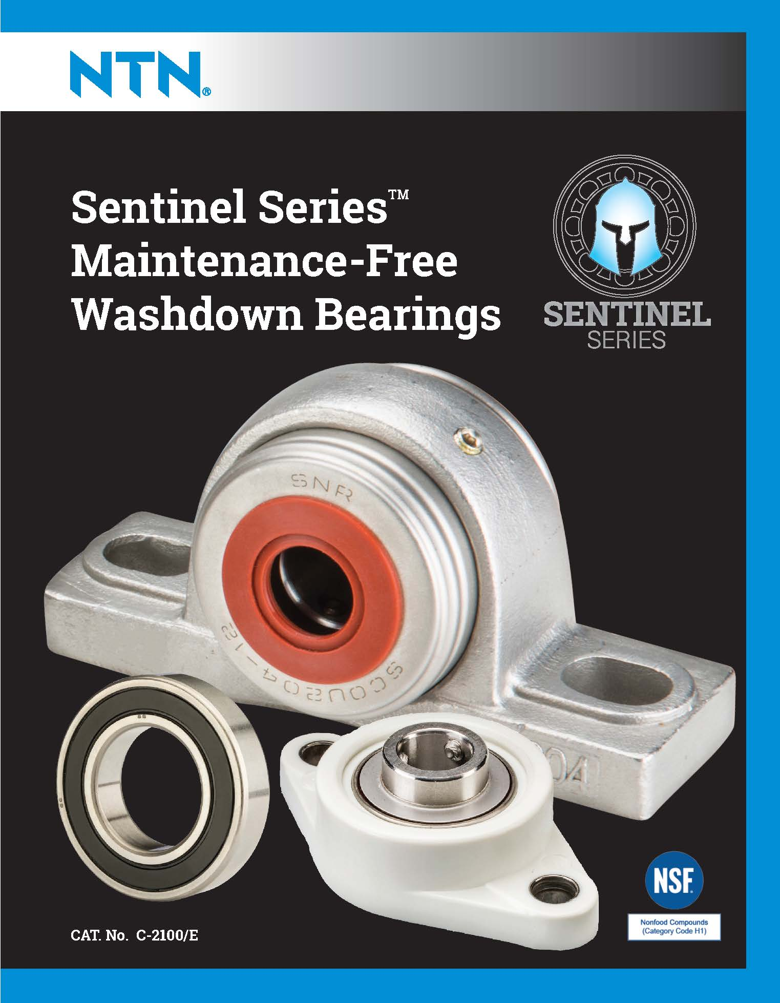 ntn sentinel series catalog cover page 01
