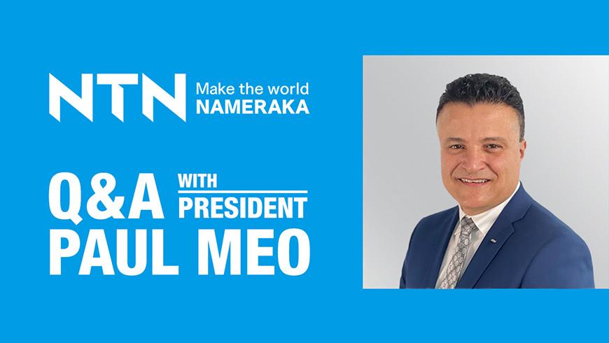 Q&A Paul Meo